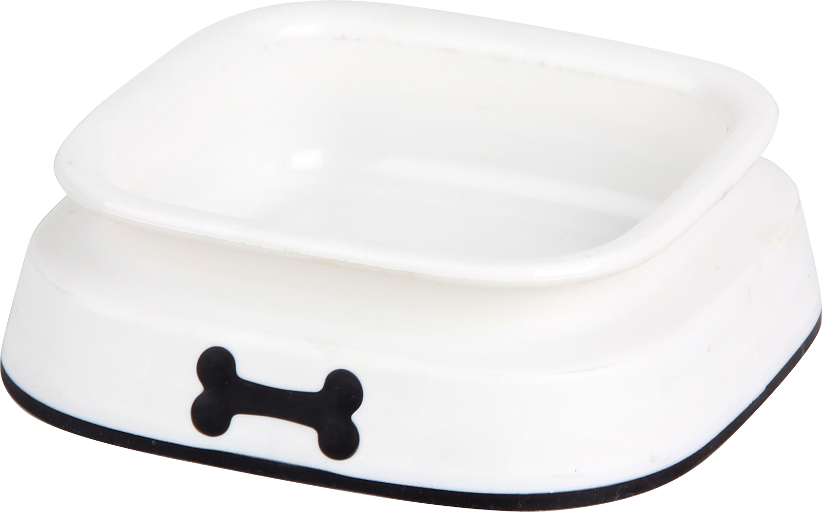 Pawise: Plastic Dog Bowl - Small/300ml image