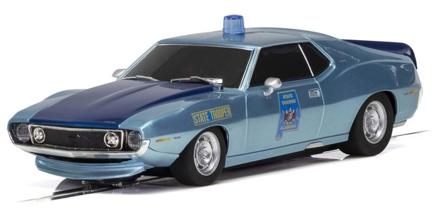 Scalextric: AMC Javelin Police (Alabama State Trooper) - Slot Car