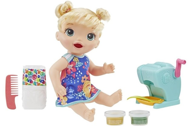 Baby Alive: Snacking Shapes Baby Doll - Blonde