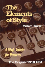 The Elements of Style by William I. Strunk image