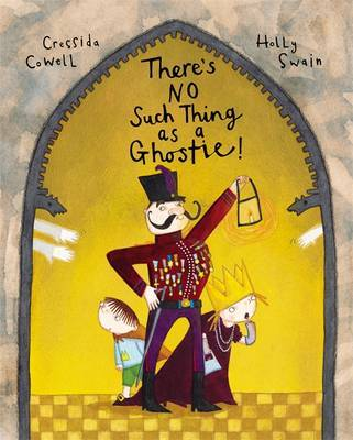 There's No Such Thing as a Ghostie by Cressida Cowell image