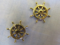 Billing Boats Wheel 25mm Brass (2x)