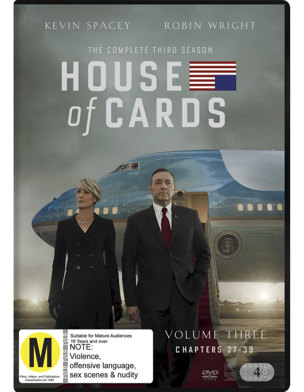House of Cards - The Complete Third Season on DVD