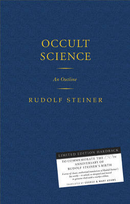 Occult Science by Rudolf Steiner image