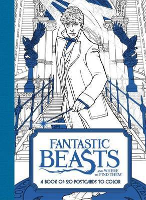 Fantastic Beasts and Where to Find Them: A Book of 20 Postcards to Color by HarperCollins Publishers