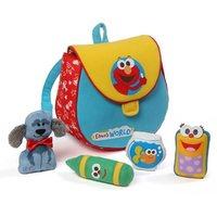 Sesame Street: Elmo's World - Backpack Playset