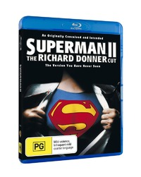 Superman II - The Richard Donner Cut on Blu-ray