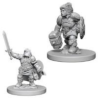 D&D Nolzurs Marvelous: Unpainted Minis - Dwarf Female Paladin