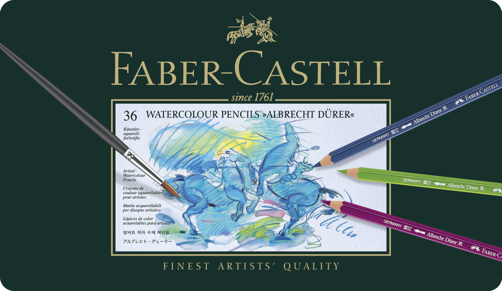 Faber-Castell: Albrecht Durer Pencil (Tin of 36) image