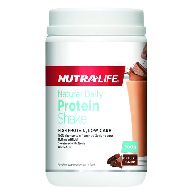 Nutra-Life: Natural Daily Protein Powder - Chocolate (500g)
