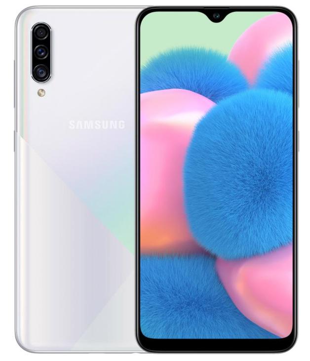 Samsung: Galaxy A30s Smartphone - 128GB (Prism White)