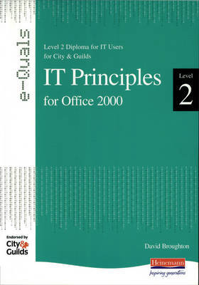 IT Principles Level 2 Diploma for IT Users for City and Guilds Office e-Quals 2000 by Susan Ward image