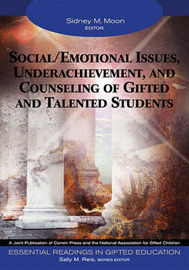 Social/Emotional Issues, Underachievement, and Counseling of Gifted and Talented Students image
