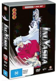 InuYasha Season 3 Collection on DVD image