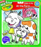 My First Colour & Sticker Book At The Farm - Crayola