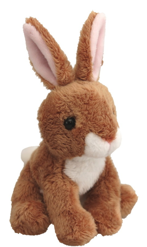Antics - Wild Mini Brown Rabbit - 12cm