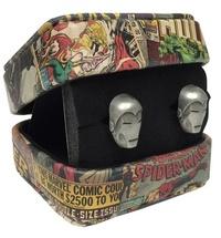 Marvel: Iron Man Head - 3-D Cufflinks