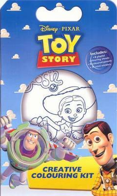Toy Story Disney Creative Colouring Kit
