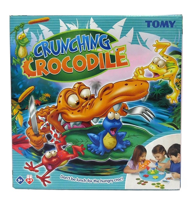 Tomy: Crunching Croc - Children's Game