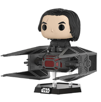 Star Wars - Kylo Ren & TIE Silencer Pop! Deluxe Figure