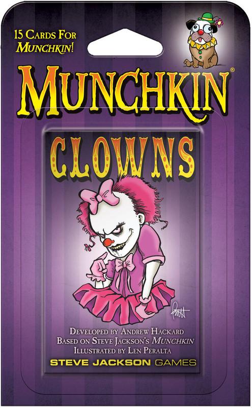 Munchkin: Clowns - Card Expansion Set