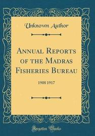 Annual Reports of the Madras Fisheries Bureau by Unknown Author image