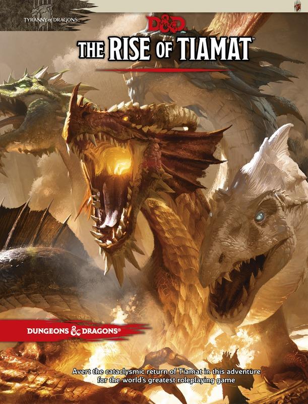 D&D The Rise of Tiamat