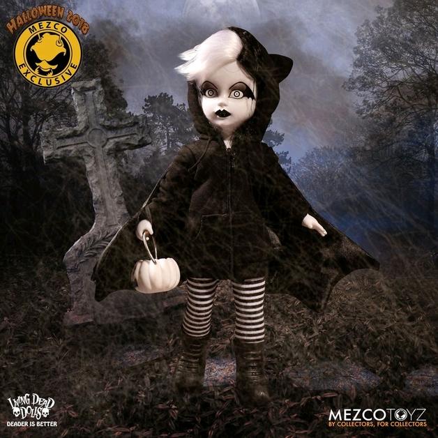 Living Dead Dolls - Halloween 2018 Vesper Black & White Edition