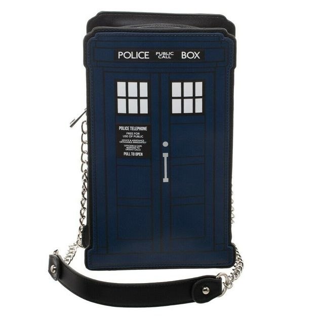 Doctor Who: Die Cut Handbag - Tardis