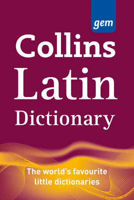 Collins Gem Latin Dictionary by Collins Dictionaries image