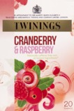 Twinings Cranberry & Raspberry Fruit Tea (20 Bags)