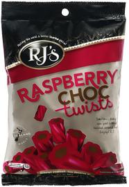 RJ's Raspberry Choc Twists (280g)