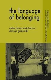 The Language of Belonging by Ulrike Hanna Meinhof image