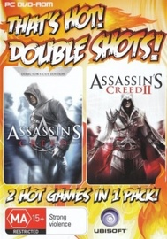 Assassin's Creed/Assassin's Creed II Double Shot (That's Hot) for PC Games