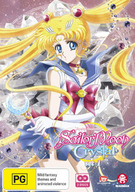 Sailor Moon Crystal Set 1 (eps 1-14) on DVD