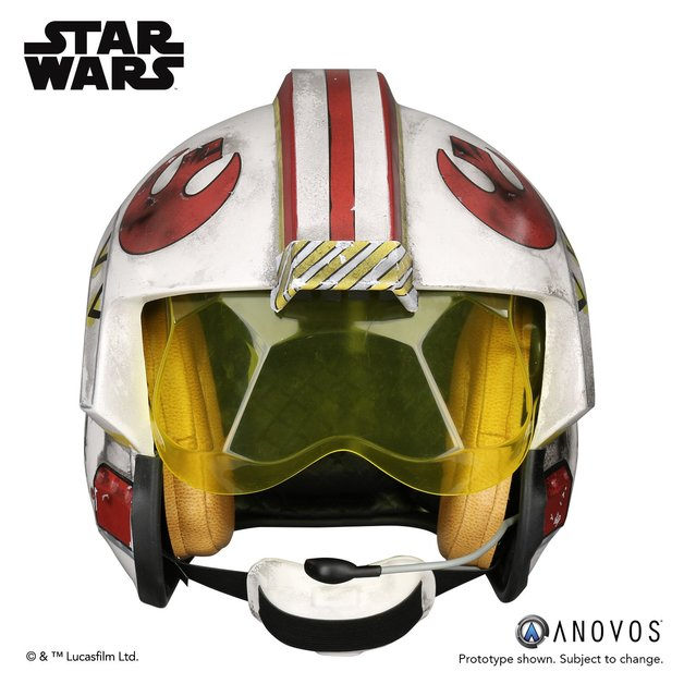 Star Wars: Luke Skywalker's Rebel Pilot Helmet - Prop Replica
