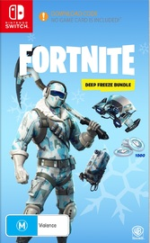 Fortnite: Deep Freeze Bundle (code in box) for Switch