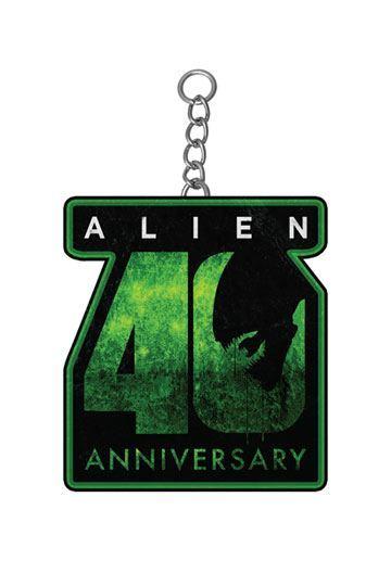 Alien: Metal Keychain - 40th Anniversary