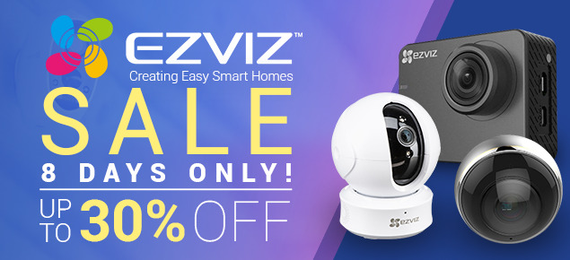EZVIZ Smart Home sale!
