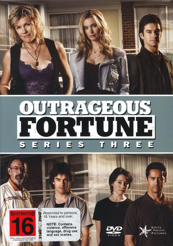 Outrageous Fortune - Season 3 on DVD image