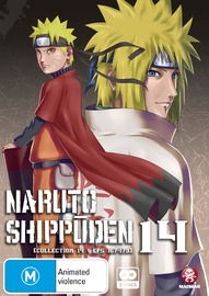 Naruto Shippuden - Collection 14 on DVD