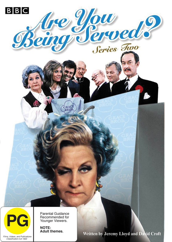 Are You Being Served? - Series 2 on DVD