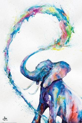 Marc Allante: Maxi Poster - Elephant (505)