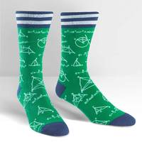 Mens - Mathlete Crew Socks