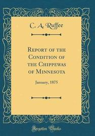 Report of the Condition of the Chippewas of Minnesota by C a Ruffee image