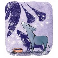 Canns Down Press: Boxed Christmas Cards - Donkey Rejoicing