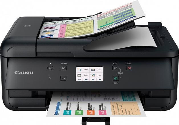 Canon: Pixma TR7560 Inkjet Multi Function Printer