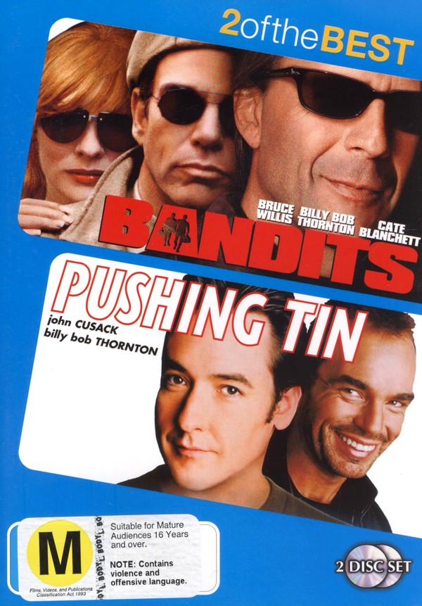 Bandits / Pushing Tin (2 Disc Set) on DVD image