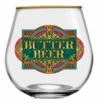 Butter Beer Globe Glasses (Set of 2)