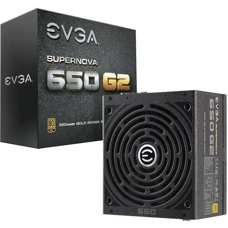 EVGA SuperNOVA 650 G2 650W 80+ Gold Full Modular Power Supply image